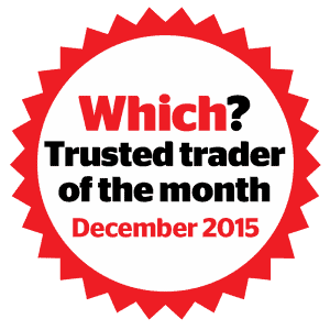 Which Trusted Trader Winner December 2015